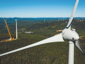 Mise en service commerciale des premiers 131 MW des Parcs éoliens de la Seigneurie de Beaupré