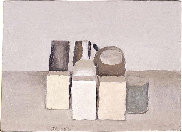 Giorgio Morandi. Still Life, 1956