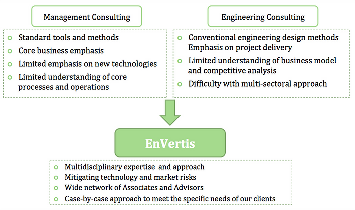 EnVertis combines technological expertise with business inteligence.