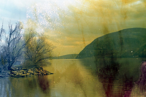 Matted Print of Impure Hudson River