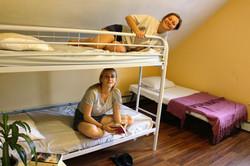 Spacious dorm