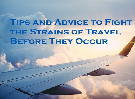 Preventing Aches and Strains while Traveling