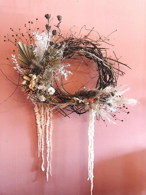 Dried Wreath: small