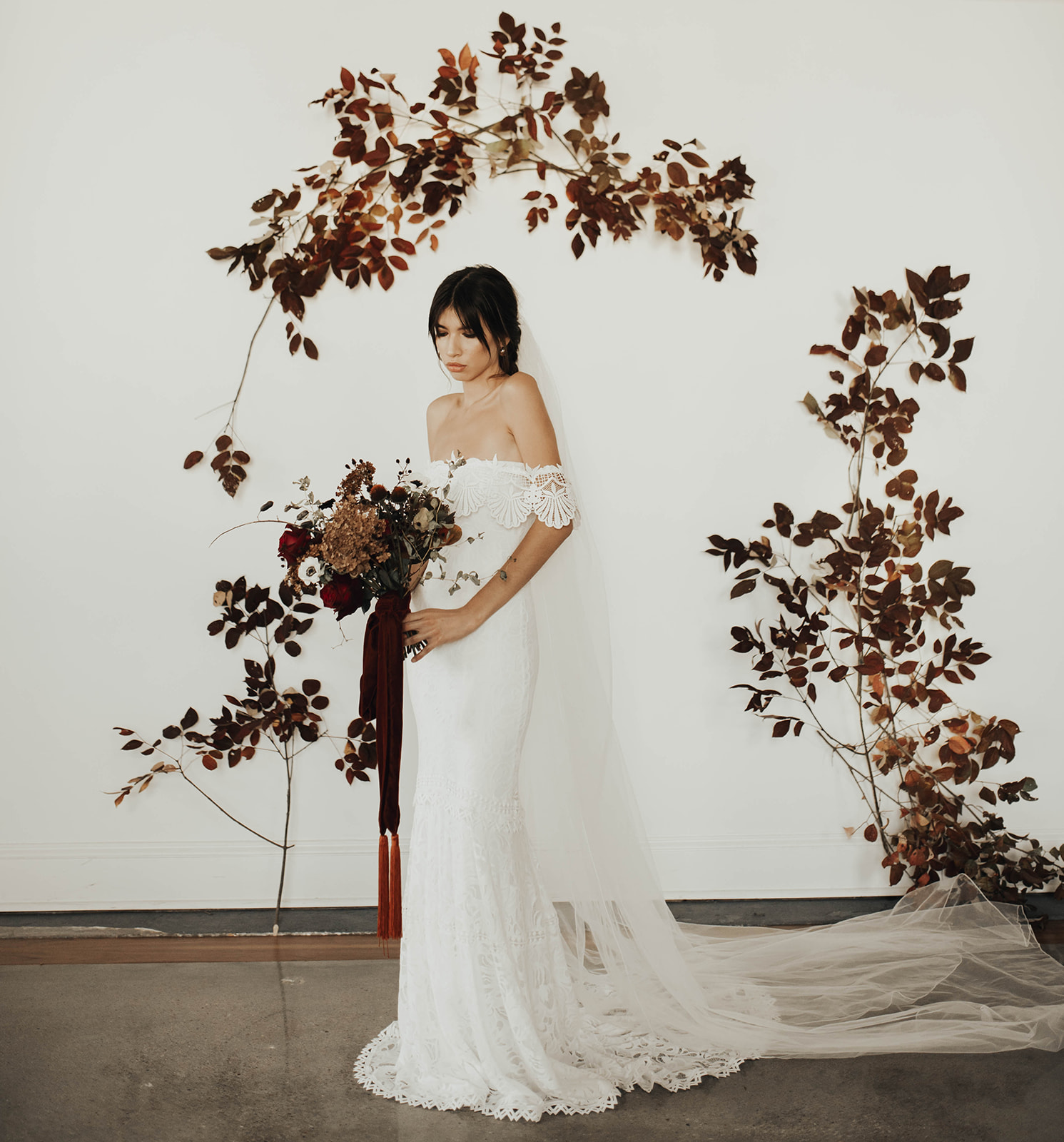 Spanish Goth Styled Shoot