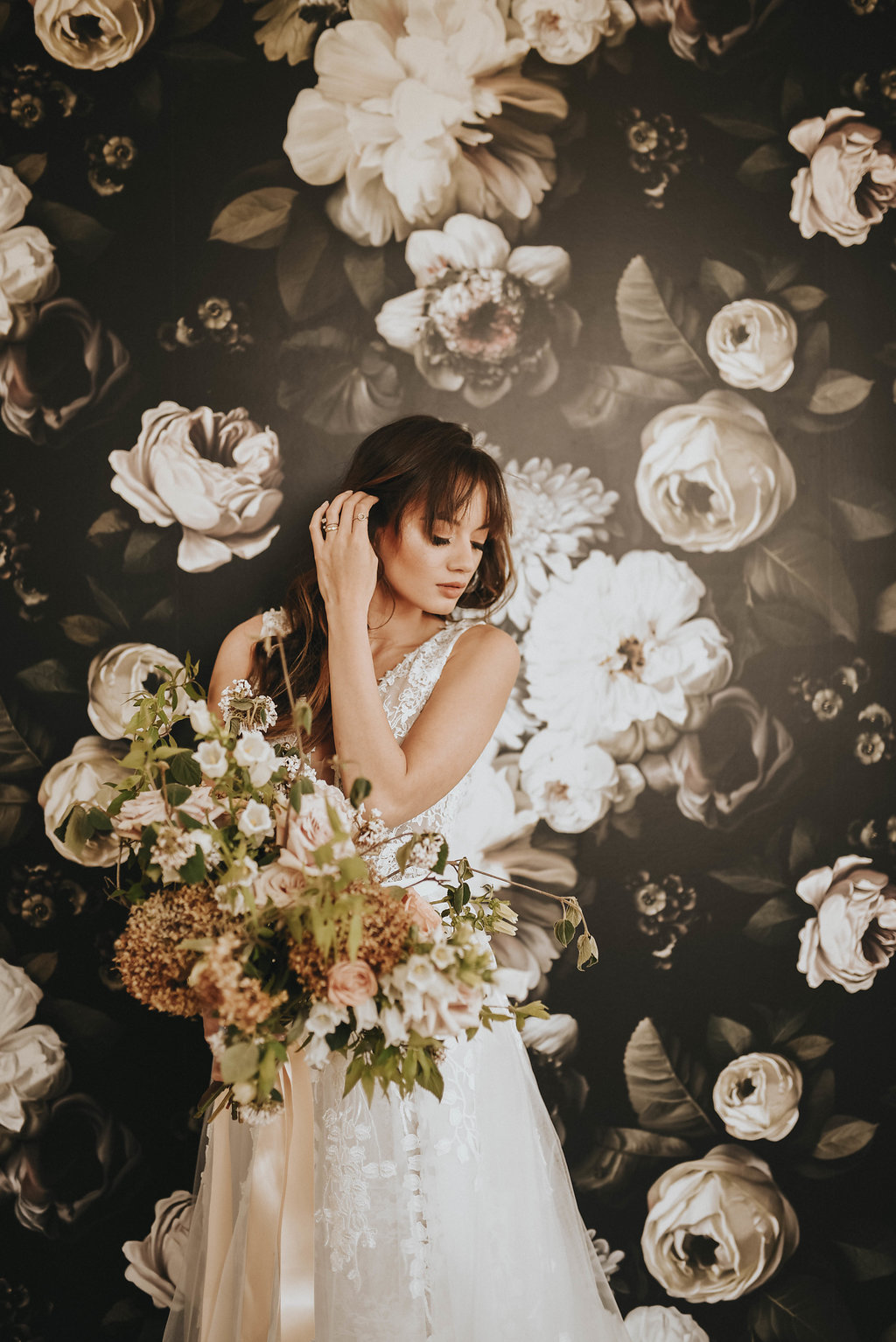 Neutral Toned Styled Shoot
