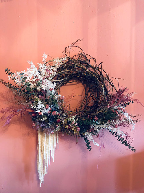 Dried Wreath: large