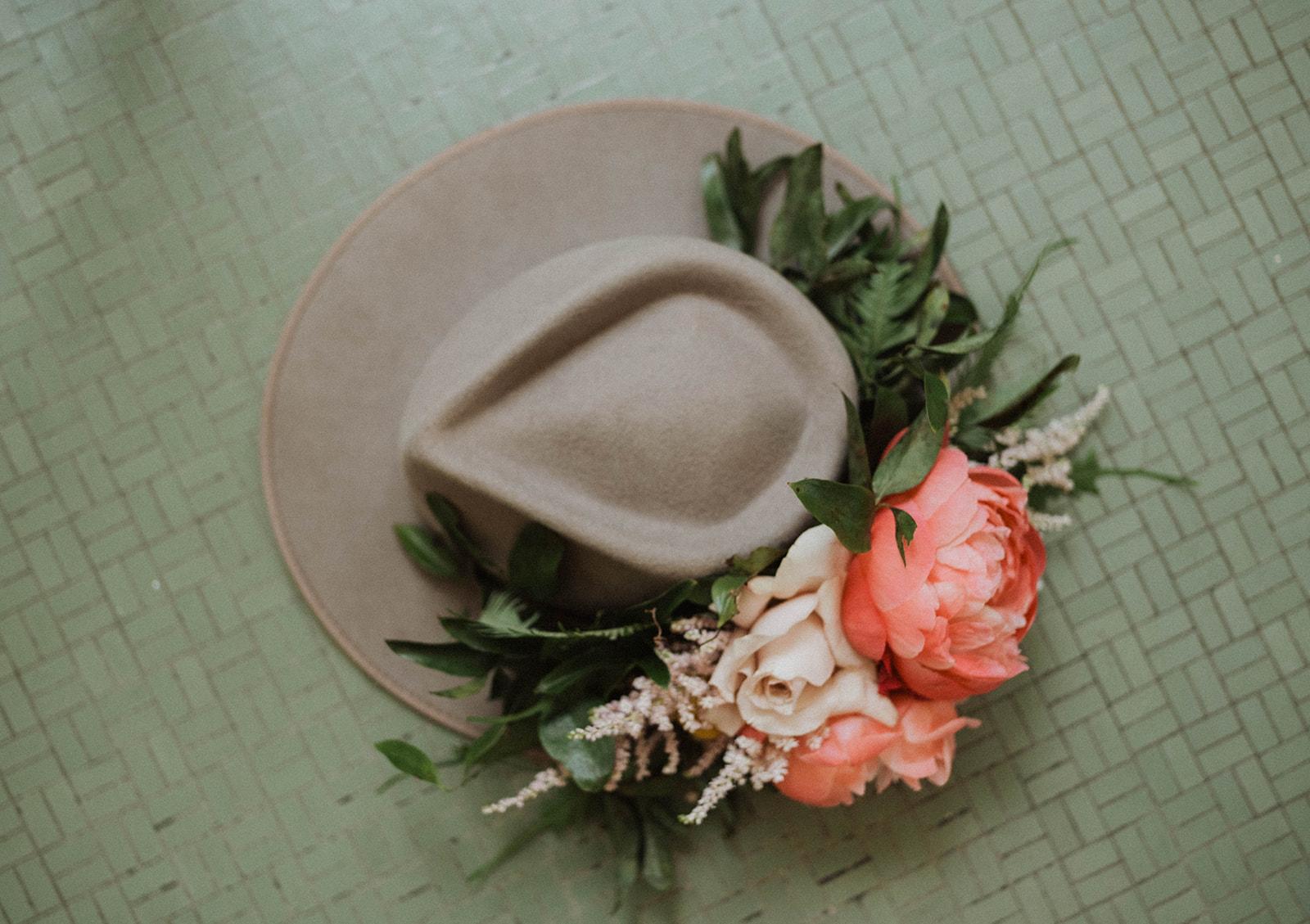Hat Floral