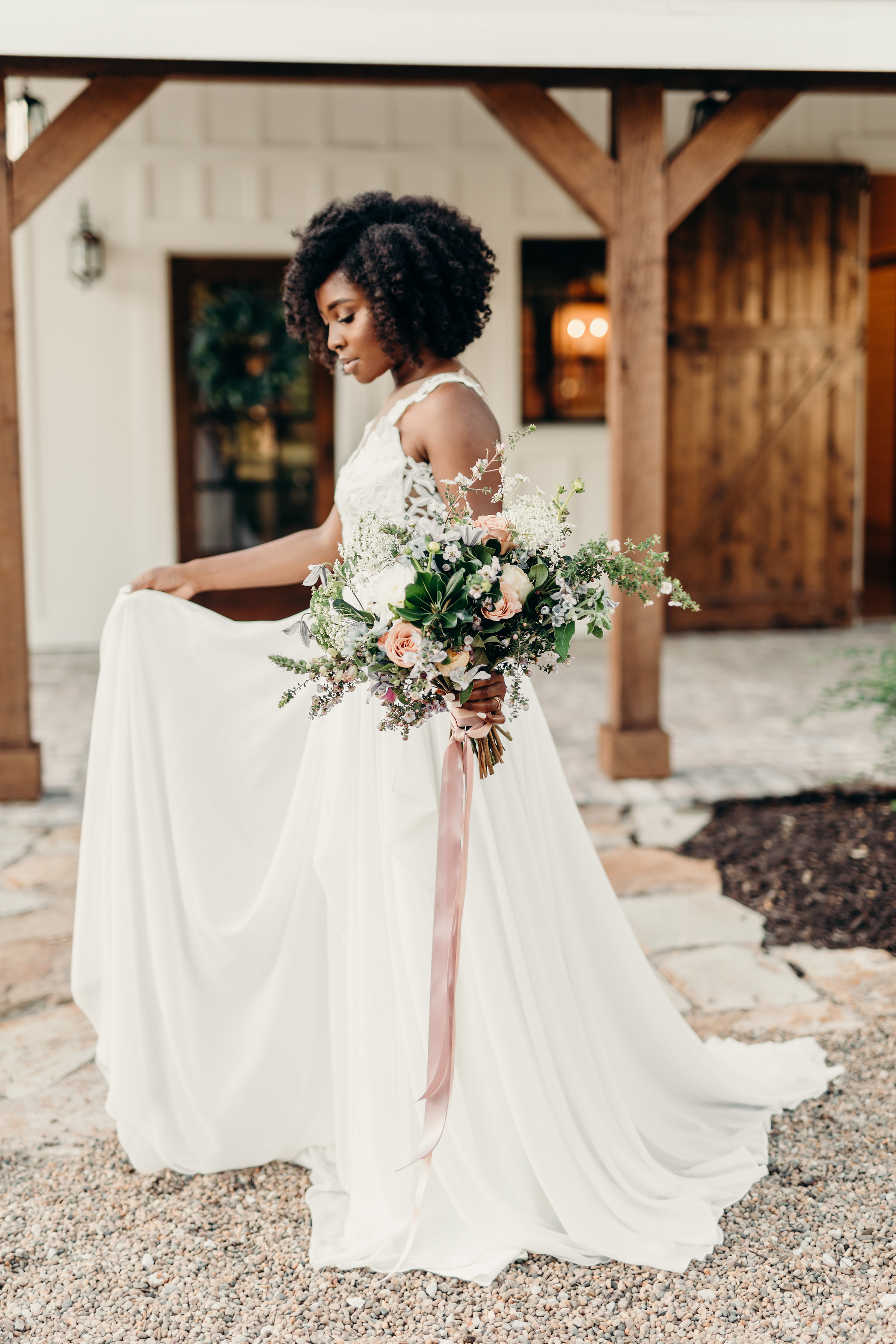 The Barn at Riverbend Styled Shoot