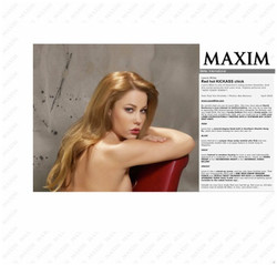 MAXIM MAGAZINE, UK