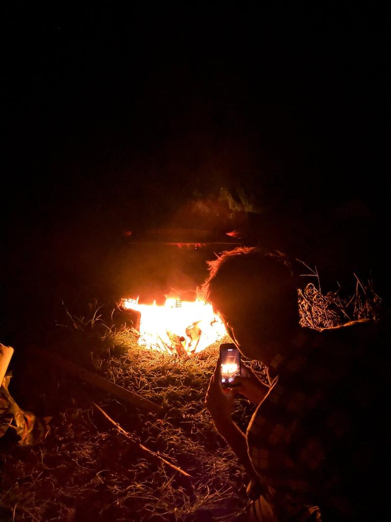 La dernière cuisson du dévoreur de flammes