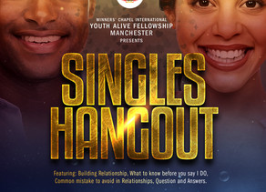 Good News!- Singles Hang-out Event
