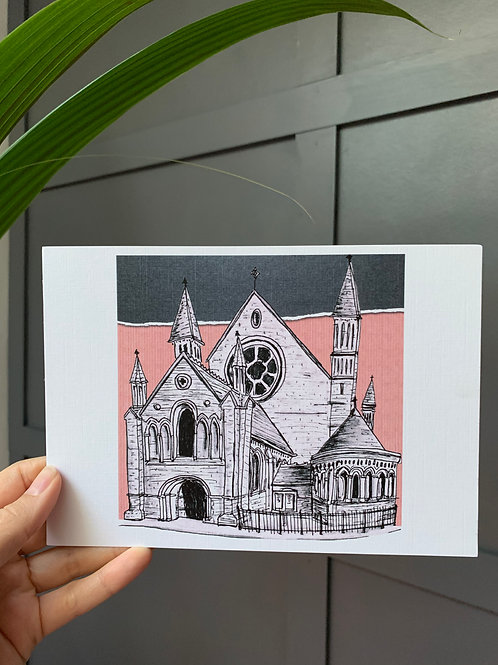 Mansfield Traquair, Edinburgh A5 Linen Art Print