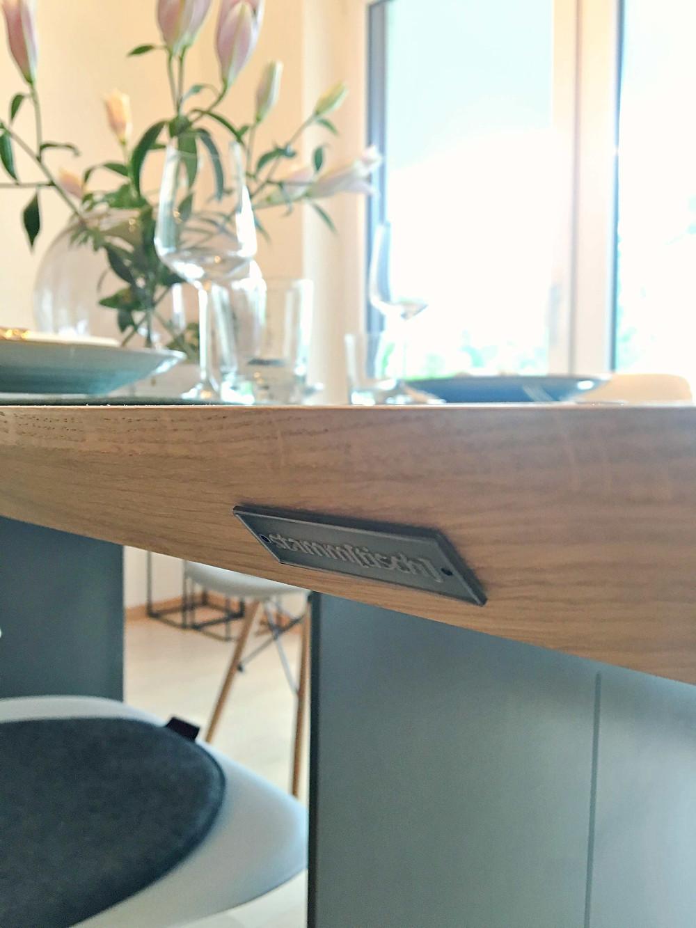 Massivholztische nach Maß von stamm[tisch] design