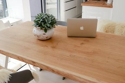 Holztisch geölt Pflege