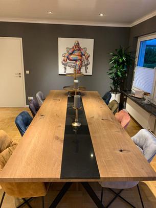 Esstisch HENRY (300 x 120 cm, Eiche, Ölung Natur)