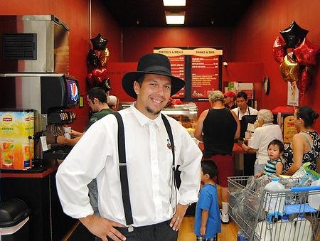 Ben Miller Founder of Ben's Pretzels