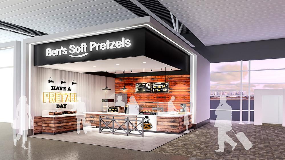 Ben's Pretzels location at the Indianapolis Airport
