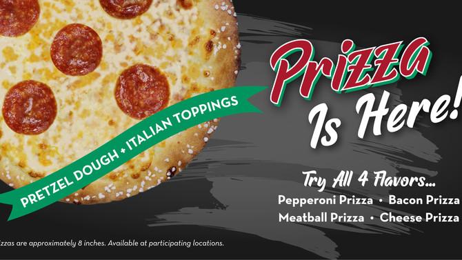 Ben's Pretzels Launches Prizza