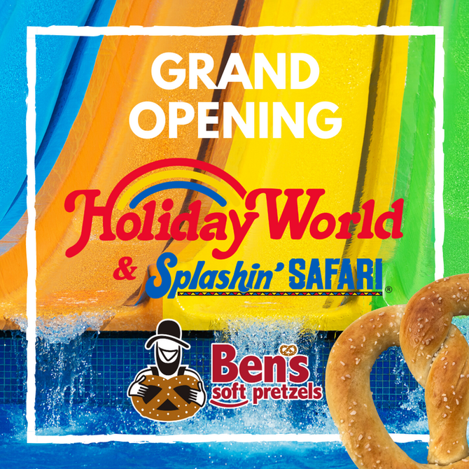 Ben's Pretzels Opens First Theme Park Location