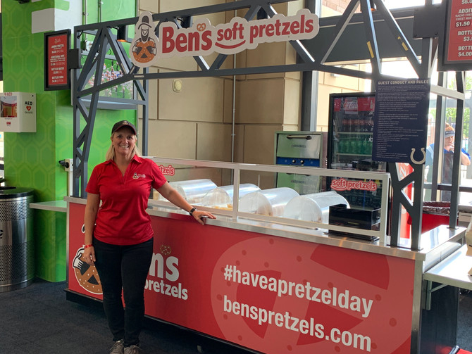 Indiana's Own Ben's Soft Pretzels to Serve Jumbo Soft Pretzels at Lucas Oil Stadium