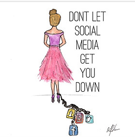 Image result for DONT LET SOCIAL MEDIA GET YOU DOWN