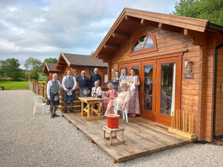 Wedding at Cobblehouse Country Cabins