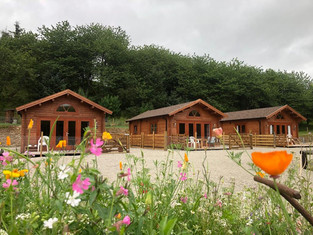 Summer at Cobblehouse Country Cabins