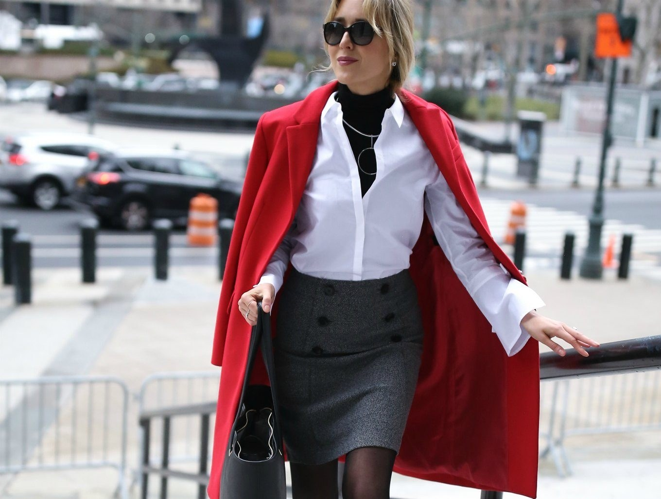 red-oversized-coat-grey-double-breasted-