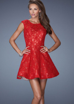 charming-scoop-neckline-red-lace-short-l
