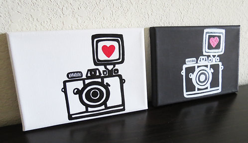 Camera Love (Set of 2)