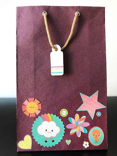 Cartoon Gift Bags (Set of 2)