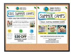 Summer Camp Flyers for Schools