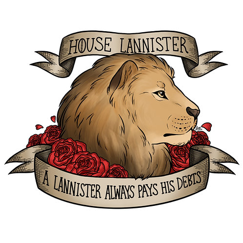 Game of Thrones - House Lannister Sticker