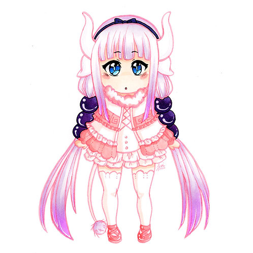 Miss Kobayashi's Dragon Maid - Kanna Print
