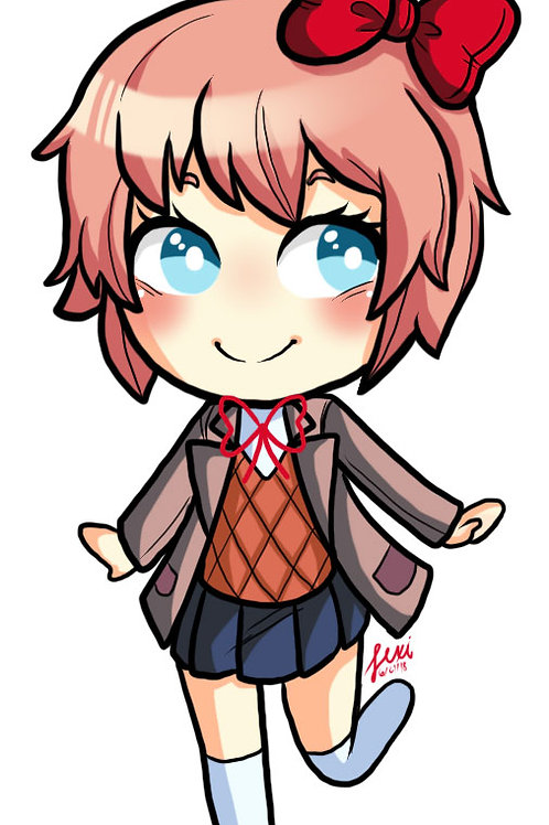 Doki Doki Literature Club - Sayori Sticker