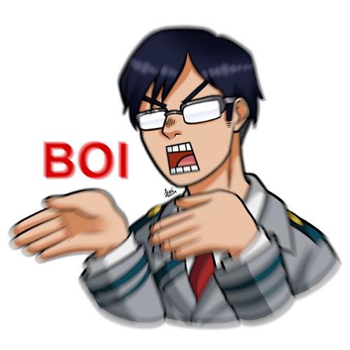 Boku No Hero Academia - Tenya Iida Sticker