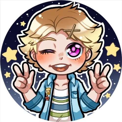 Mystic Messenger - Yoosung Button