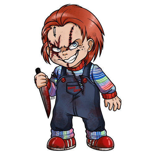 Child's Play - Chucky Sticker