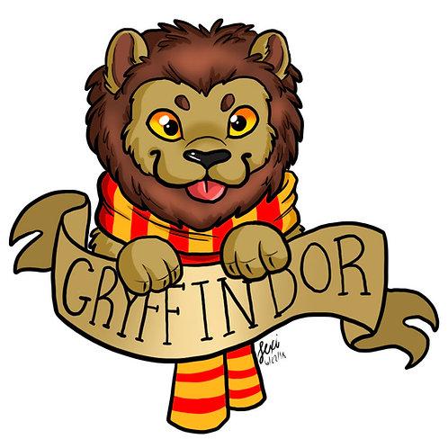 Harry Potter - Gryffindor Sticker