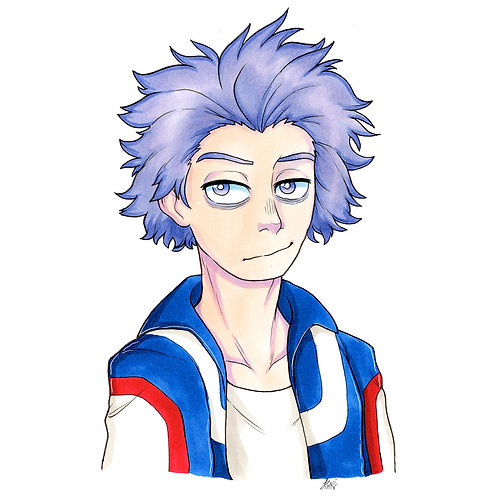 Boku No Hero Academia - Shinso Print