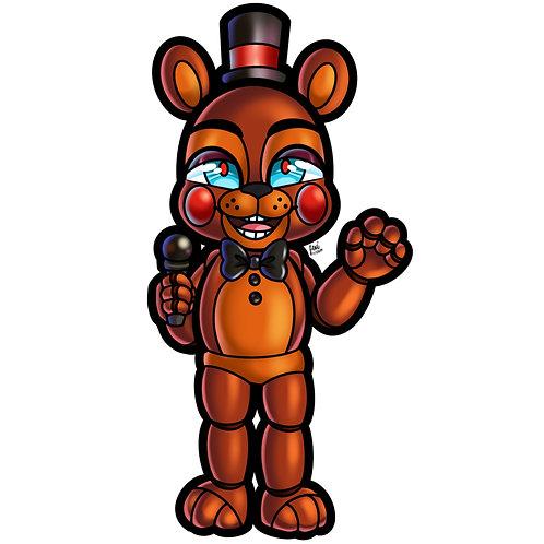 Five Nights at Freddy's - Toy Freddy Sticker