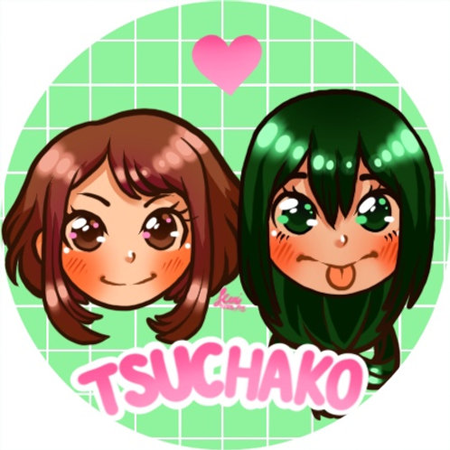Boku No Hero Academia - Tsuchako Button