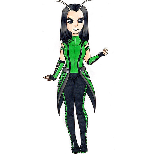 Marvel - Mantis Print