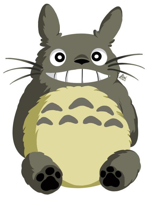 Studio Ghibli - Totoro Sticker