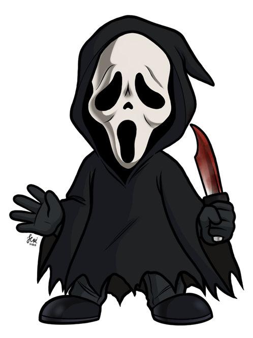 Scream - Ghostface Sticker