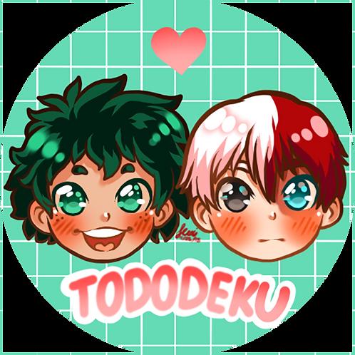 Boku No Hero Academia - Tododeku Button