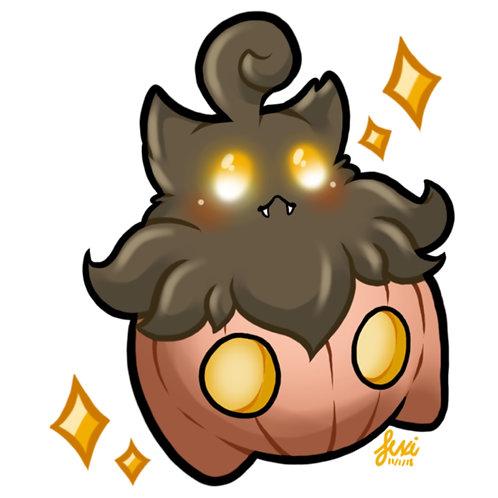 Pokemon - Pumpkaboo Sticker