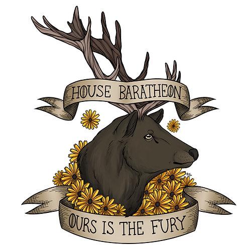 Game of Thrones - House Baratheon Sticker