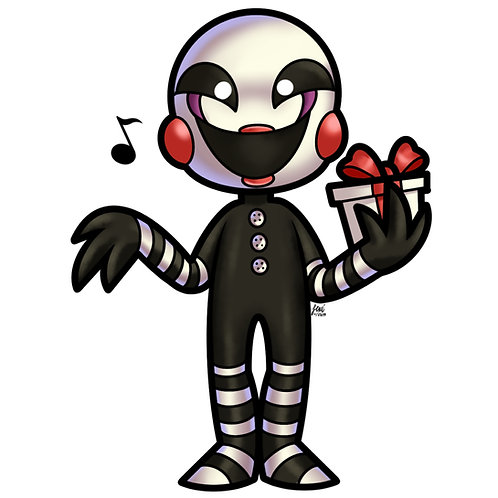 Five Nights at Freddy's - The Marionette Sticker