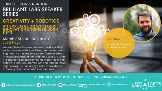 Making a Difference Speaker Series: Creativity and Robotics